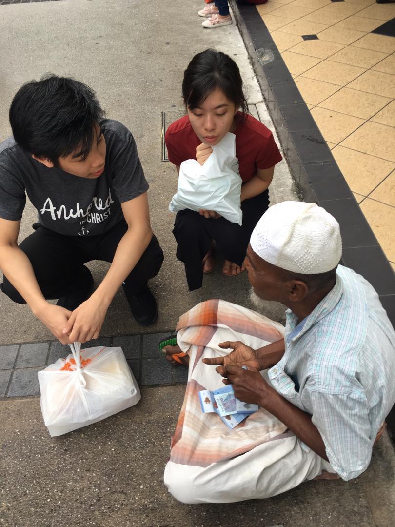 God's Liquid Love Expressed in Kuala Lumpur, Malaysia