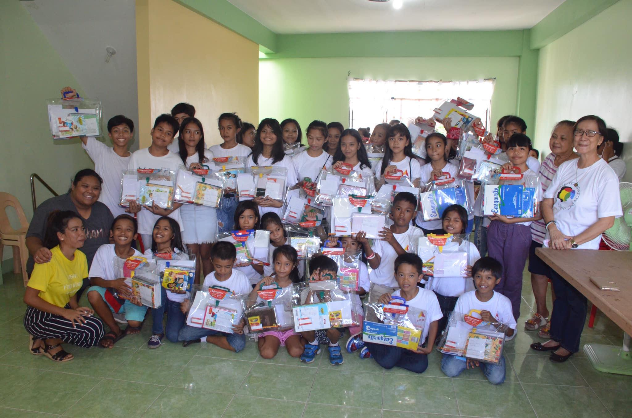 'Back To School Campaign' in Legazpi, Philippines