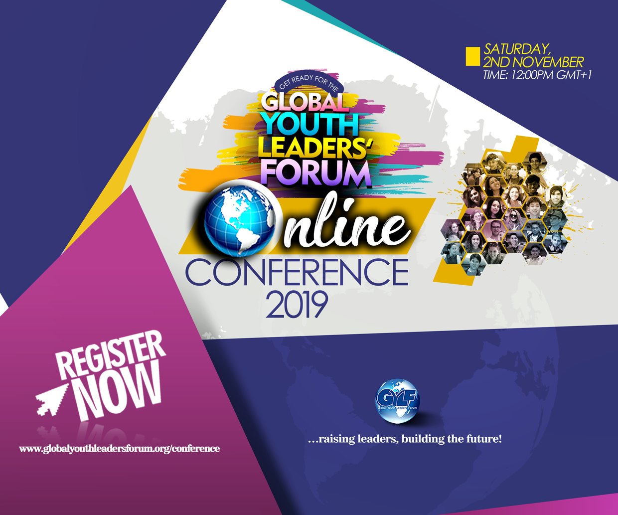 THE GYLF ONLINE CONFERENCE 2019 IS HERE AGAIN!