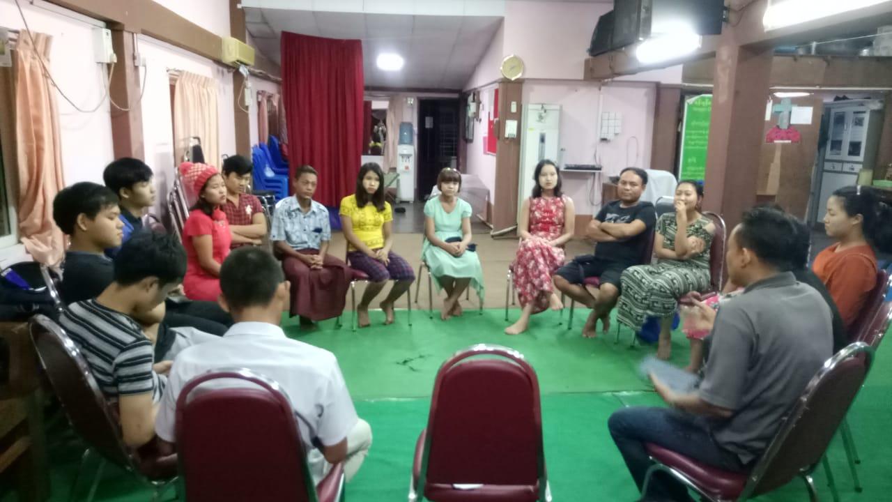 Leadership Training Meeting in Yangon, Myanmar.