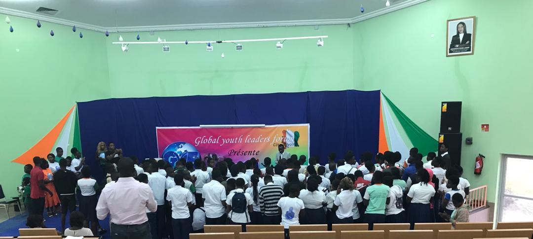 High School Outreach in Abidjan, Côte D'Ivoire.