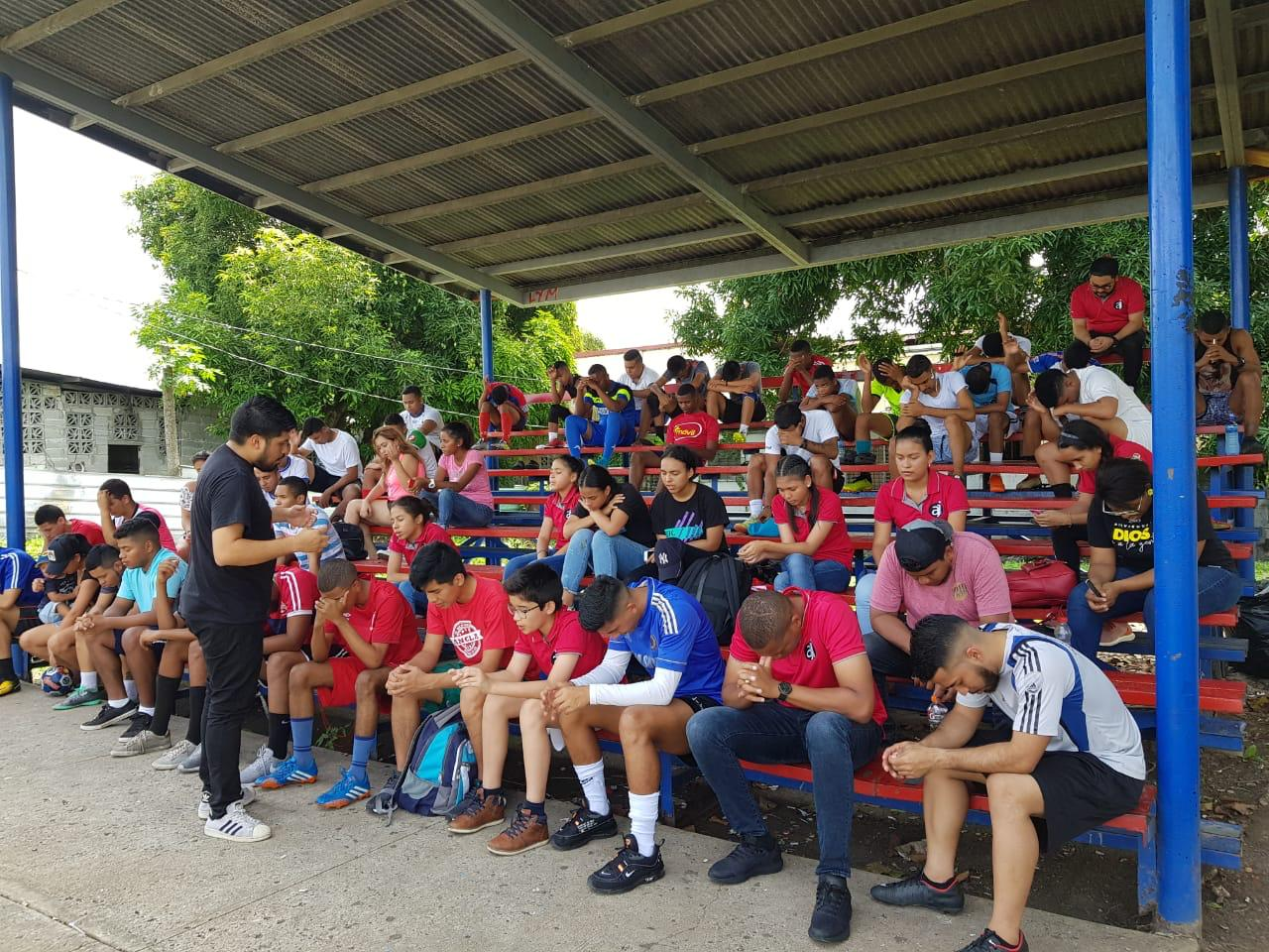 Sport Outreach in Panama city, Panama.