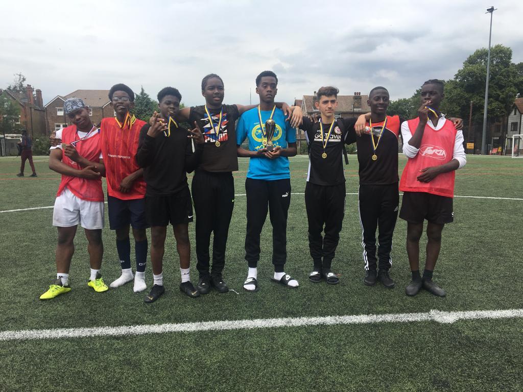 Football Outreach in Croydon, United Kingdom.