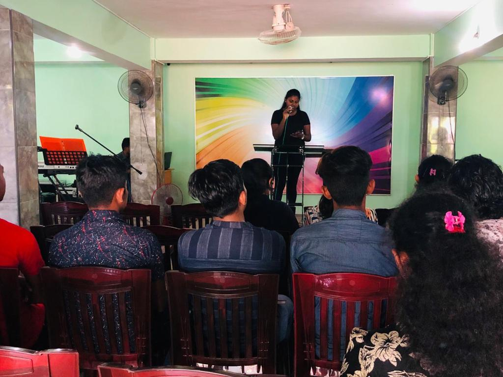More Youths Equipped and Inspired for Greater Exploits in Marawila, Sri Lanka