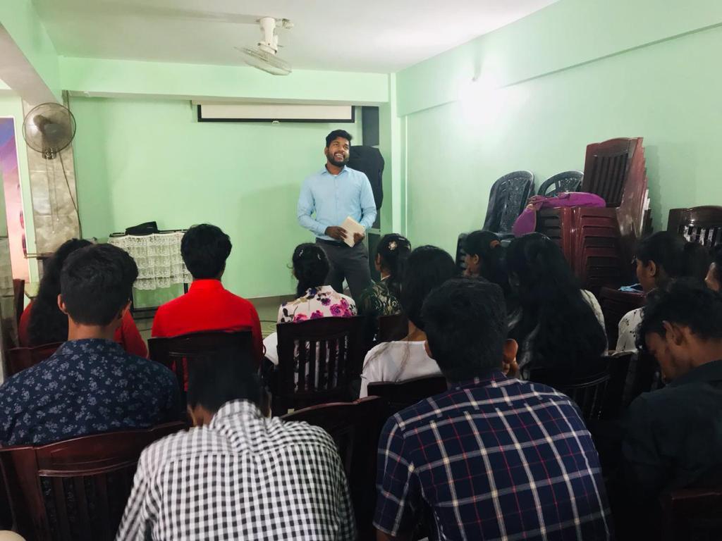 Career Development Program in Marawila, Sri Lanka