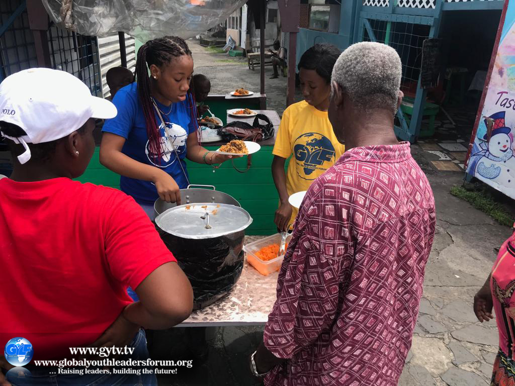 International Youth Day in Kingstown, St.Vincent.