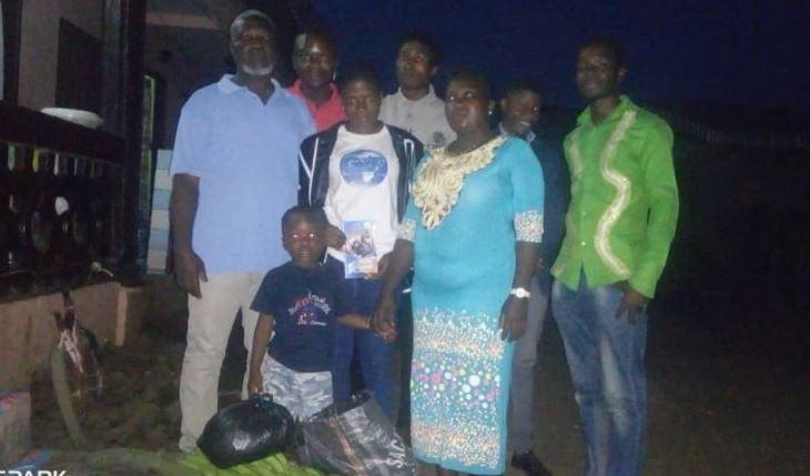 GYLF FOOD DRIVE IN BUEA, CAMEROON