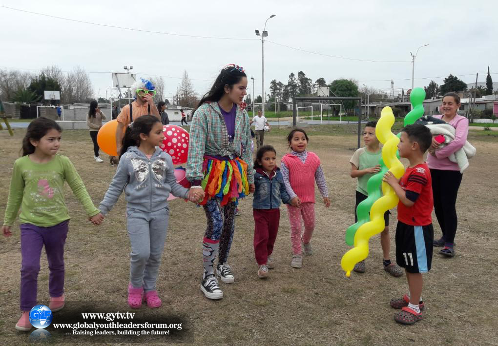 Children Outreach in Montevideo, Uruguay.