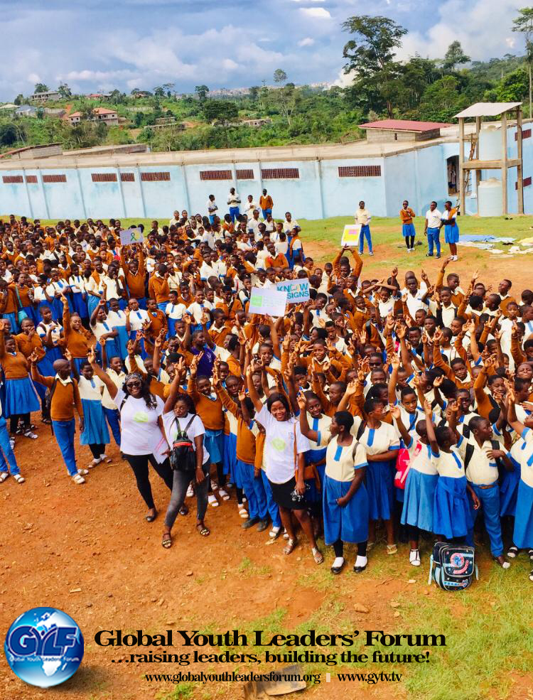 International Day of the Girl Child in Yaounde, Cameroon