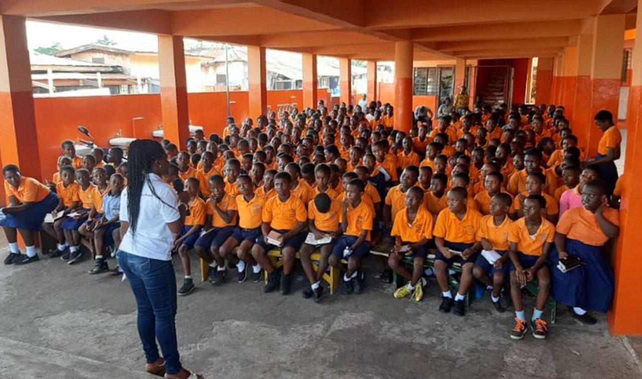 GYLF TALENT HUNT IN ACCRA NEW TOWN
