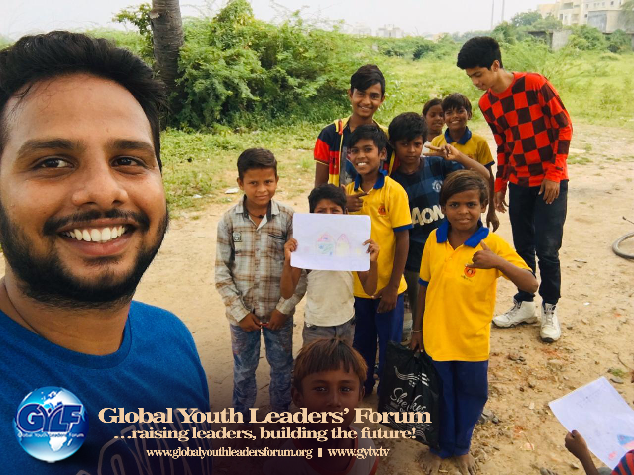 GYLF Ambassadors Reached Out to the Underprivileged in Gujarat, India