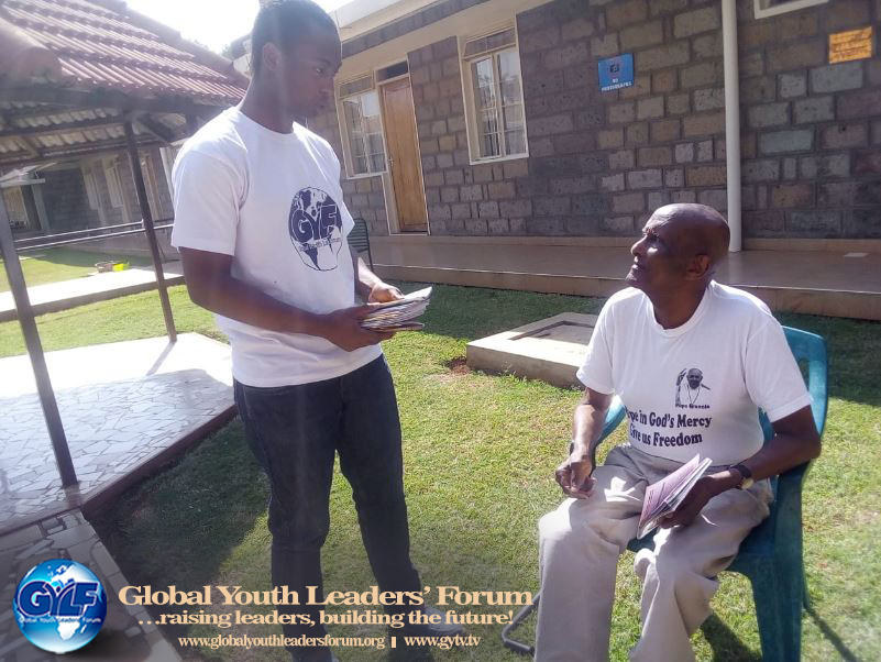 GYLF AMBASSADORS REACHED OUT TO THE ELDERLY IN NAIROBI, KENYA