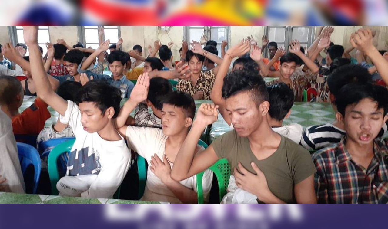 Over 500 Children and Youth Received Salvation at the Juvenile Home in Myanmar