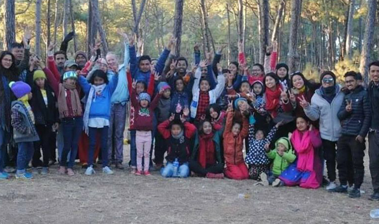 GYLF AMBASSADOR REACHED OUT TO INDIGENT CHILDREN IN NEPAL