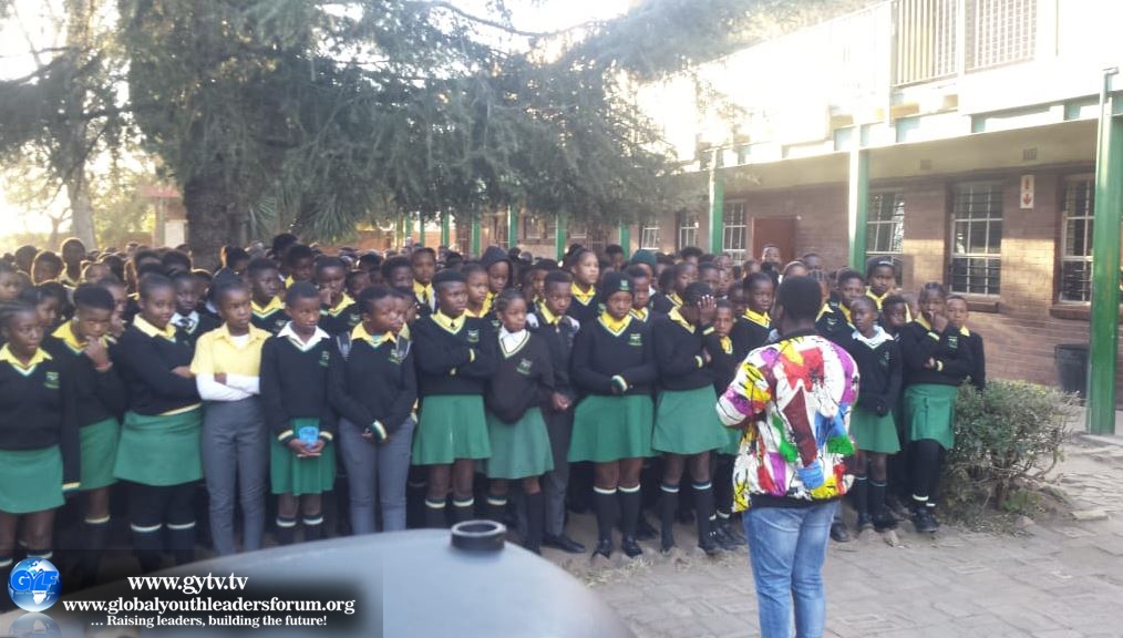 High School Outreach in Alexandra Township, South Africa.