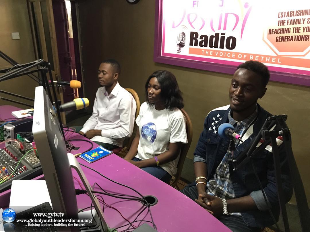International Youth Day in Freetown, Sierra Leone.