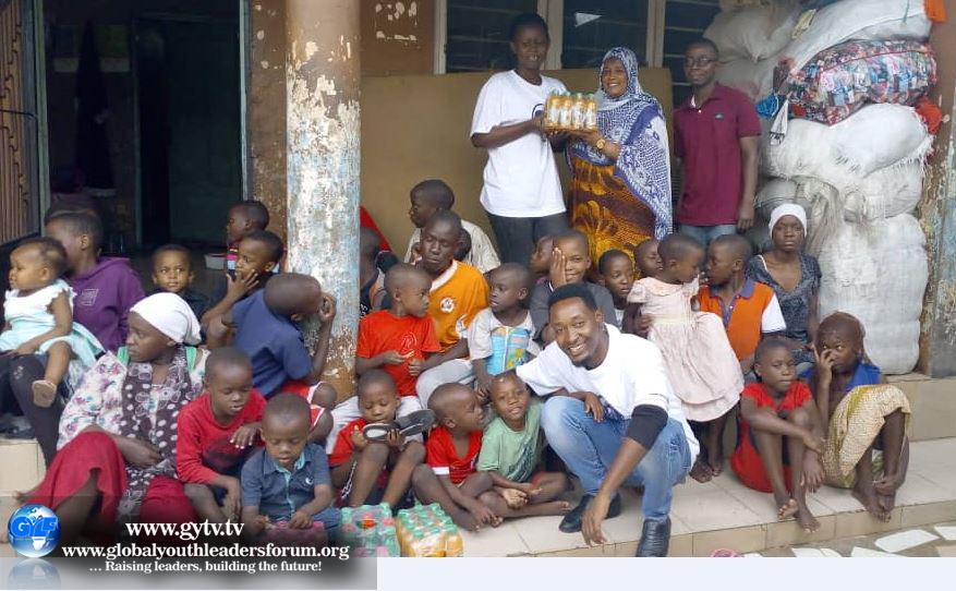 International Youth Day in Dodoma, Tanzania.